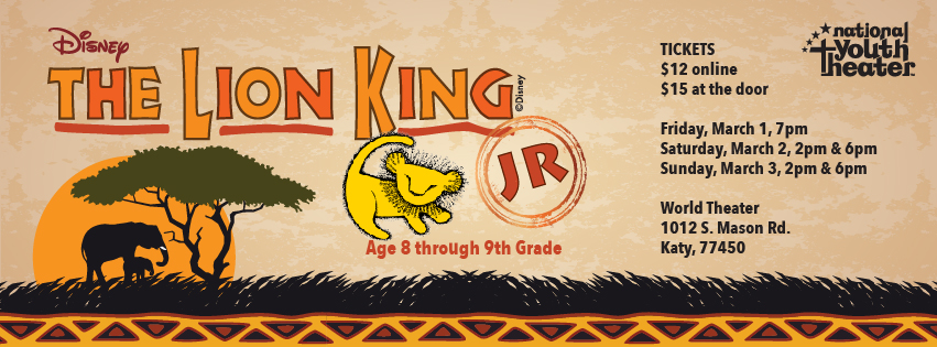 Disneys Lion King Jr Main Cast Announced Nyt